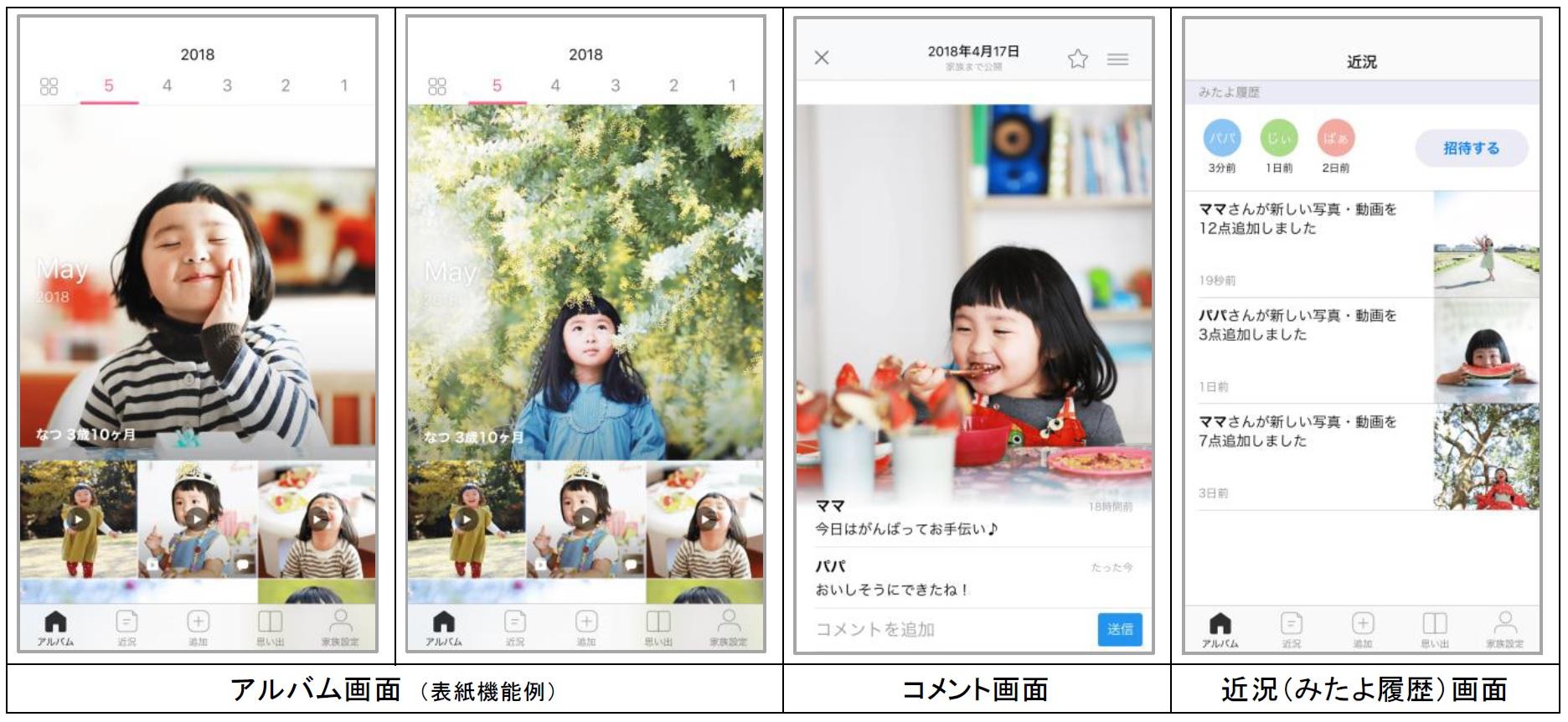家族向け写真・動画共有アプリ「家族アルバム みてね」 利用者数500万人を突破!